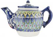 """Чайник заварочный Sima-land """"Риштан"""", цвет: синий, белый, зеленый, 600..."""