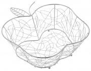"Фруктовница Guterwahl ""Яблоко"", фигурная, 29 х 27 х 10,5 см"