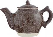 """Чайник заварочный Sima-land """"Риштан"""", цвет: коричневый, 600 мл"""