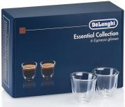 DeLonghi Espresso Glasses Set чашки, 6 шт