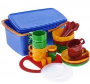 Набор посуды SOLARIS на 6 персон в контейнере