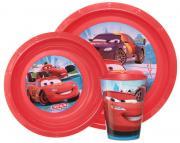 Disney Набор детской посуды Cars 3 предмета
