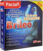 "Капсулы с гелем для посудомоечных машин Paclan ""Brileo. All in One..."