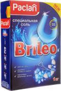 """Соль специальная для посудомоченых машин Paclan """"Brileo"""", 1 кг"""