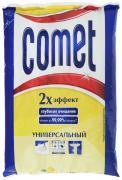 """Порошок чистящий Comet """"Лимон с хлоринолом"""", универсальный, 400 г"""
