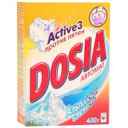 """Стиральный порошок Dosia """"Active 3"""", автомат, альпийская свежесть, 400..."""