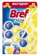 """Чистящее средство для унитаза Bref """"Сила-актив"""", лимонная свежесть, 50..."""