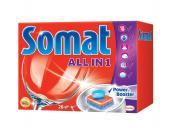 """Средство для мытья посуды в посудомоечной машине """"Somat All in 1"""", 28..."""