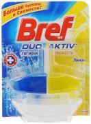 "Чистящее средство для унитаза Bref Duo Aktiv ""Лимон"", 50 мл"