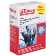 Filtero Соль для посудомоечной машины, 1 кг + 3 таблетки для...