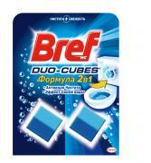 """Чистящее средство для сливного бачка Bref """"Duo-Cubes 2 в 1"""", 50 г, 2..."""