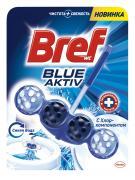 "Чистящее средство для унитаза Bref ""Blue Aktiv"", 50 г"