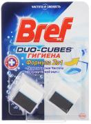 """Чистящее средство для сливного бачка Bref """"Duo-Cubes. Гигиена 2 в 1"""",..."""