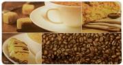 "Разделочная доска Kesper ""Кофе"", стеклянная, 23,5 х 14,5 см"