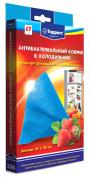 Topperr 3106, Light Blue антибактериальный коврик в холодильник