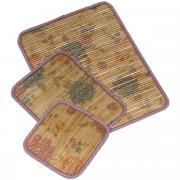 """Набор салфеток под горячее """"Dommix"""", цвет: коричневый, 3 шт. OW041"""