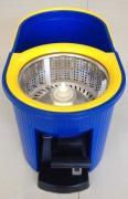 Универсальная швабра с отжимом Spin Mop Q2 (Спин Моп) синяя