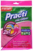 """Салфетка Paclan """"Practi"""", цвет: розовый, 17 см х 23 см"""