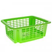"""Корзина для хранения Dunya Plastik """"Стакер"""", цвет: салатовый, 31 х 20..."""