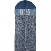 "Чехол для пальто Cosatto ""Флораль"", цвет: синий, 137 см х 60 см"