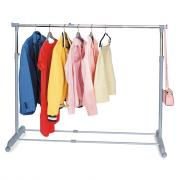"""Стойка для одежды Tatkraft """"Party"""" , регулируемая, цвет: серый"""