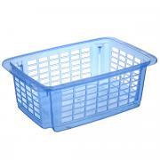 """Корзина для хранения Dunya Plastik """"Стакер"""", цвет: синий, 12 л"""
