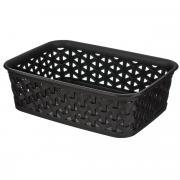 "Корзинка Curver ""My style basket"", цвет: темно-коричневый, 20 см х 14..."