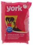 """Губка для тефлона York """"Линда"""", цвет: красный"""