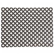 "Коврик для раковины Umbra ""Meridian"", цвет: серый, 41 х 32 см"
