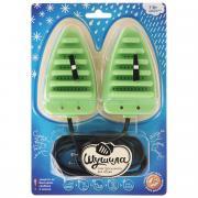 """Сушилка для обуви """"Шушила"""", электрическая, цвет: зеленый"""