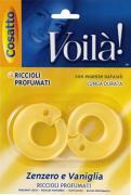 """Ароматизатор для шкафа """"Кольцо. Имбирь и ваниль"""", 2 шт. COVLPBR001"""