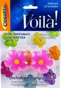 """Ароматизатор для шкафа """"Цветы. Орхидея"""", на присоске, 2 шт. COVLPBF005"""