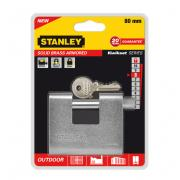 "Замок ""Stanley"" латунный армированный, 80 мм. S742-023"