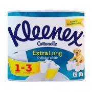 Туалетная бумага Kleenex extra long 2-х слойная (4шт)