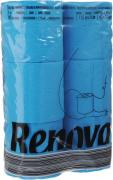 "Туалетная бумага Renova ""Color"", трехслойная, ароматизированная, цвет:..."