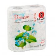 Туалетная бумага Maneki Dream с тиснением, с ароматом утренней...