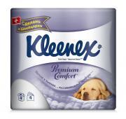 "Туалетная бумага Kleenex ""Premium Comfort"", четырехслойная, цвет:..."