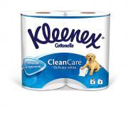 """Туалетная бумага Kleenex """"Delicate White"""", двухслойная, цвет: белый, 4..."""