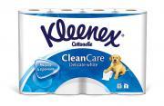"""Туалетная бумага Kleenex """"Delicate White"""", двухслойная, цвет: белый,..."""