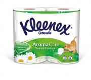 """Туалетная бумага Kleenex """"Нежная Ромашка"""", трехслойная, с ароматом..."""