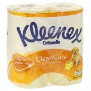"""Туалетная бумага Kleenex """"Sunny Yellow"""", двухслойная, цвет: желтый, 4..."""