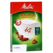 Melitta Original, White фильтры для заваривания кофе, 1x2/40