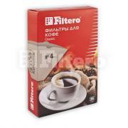 Аксессуары для кофеварок и кофемашин FILTERO фильтры для кофе, №4/80,