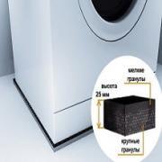 Mattix-Vibrotex 40x60 см Антивибрационный коврик под стиральную машину