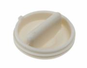 Фильтр сливного насоса (помпы) для стиральной машины: Крышка фильтра...