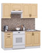 Кухонный гарнитур МегаЭлатон Лиана Флорида МДФ 1600 Корпус белый /...