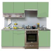 Кухня Симпл 2100 мм с нишей, 1 категория, Боровичи мебель