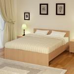 Кровать Промтекс-Ориент Рено 2 Ноче Гварнери (140x200x80 см)
