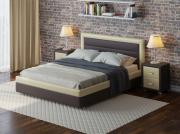 Кровать Орматек Life Box 2 Brown (TM- Venge) / Бежевый Cream...