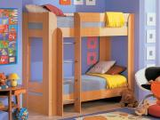 Кровать двухъярусная, с матрасами, Элегия Боровичи